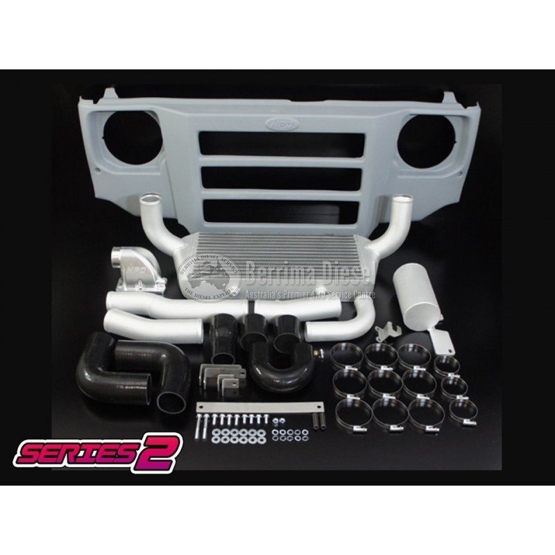 Suitable for TOYOTA LANDCRUISER 70 SERIES 1HZ SERIES 2 FRONT MOUNT  INTERCOOLER