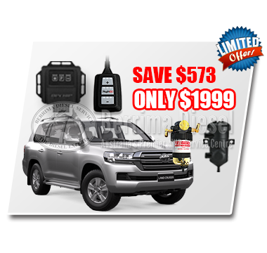 Toyota Landcruiser 200 series 4.5L CRD Performance & Protection Bundle Deal