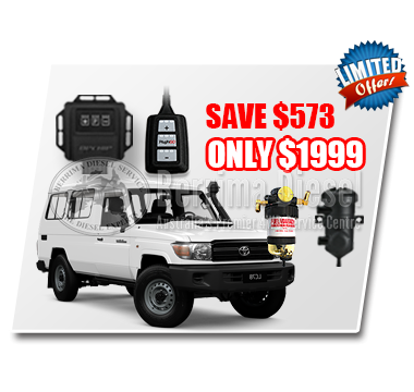Toyota Landcruiser 70 series 4.5L CRD Performance & Protection Bundle Deal