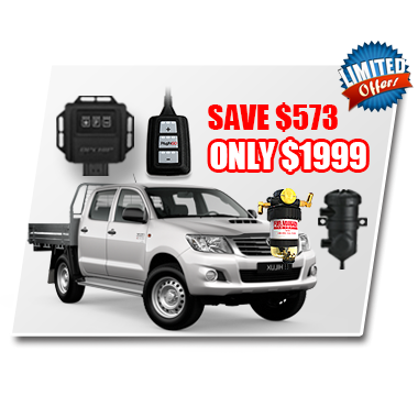 Toyota Hilux 2.8L CRD Performance & Protection Bundle Deal