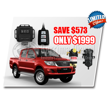 TOYOTA HILUX 3.0L CRD PERFORMANCE & PROTECTION BUNDLE DEAL