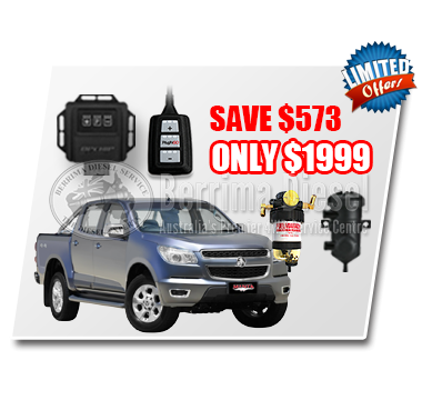 Holden Colorado RG 2.8L CRD Performance & Protection Bundle Deal