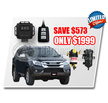 Isuzu Dmax/Mux 3.0 CRD Performance & Protection Bundle Deal
