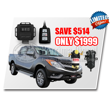 Mazda BT50 3.2L Performance & Protection Bundle Deal