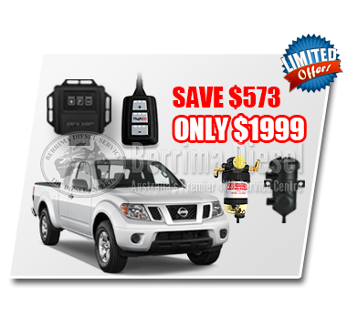 Nissan Navara D40 2.5 CRD Performance & Protection Bundle Deal