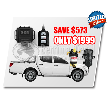 Mitsubishi Triton  MN 2.5L CRD Performance & Protection Bundle Deal
