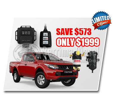 Mitsubishi Triton MQ 2.4L CRD Performance & Protection Bundle Deal