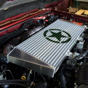 CROSS COUNTRY 4x4 Intercooler