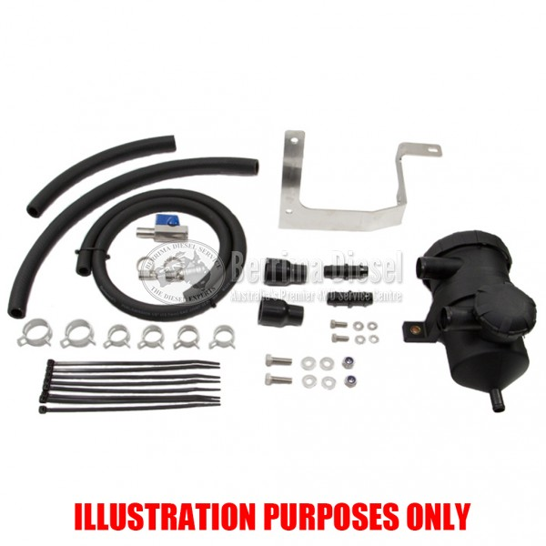 ( PROVENT Catch Can Kit ) Suitable for Toyota Prado KDJ 155R 1GD-FTV 2.8L 2015 - ON