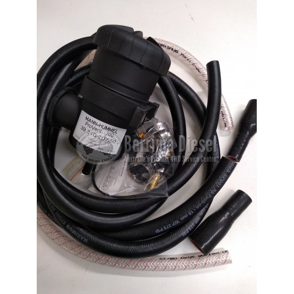 ( PROVENT Catch Can Kit ) Nissan Patrol ZD30 (12-16mm Hoses) 3.0CRD 2007-2015