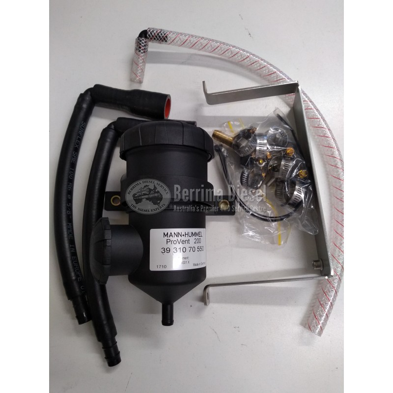 ( PROVENT Catch Can Kit ) Suitable for Toyota Prado 120 series 3 0L 1KD-FTV