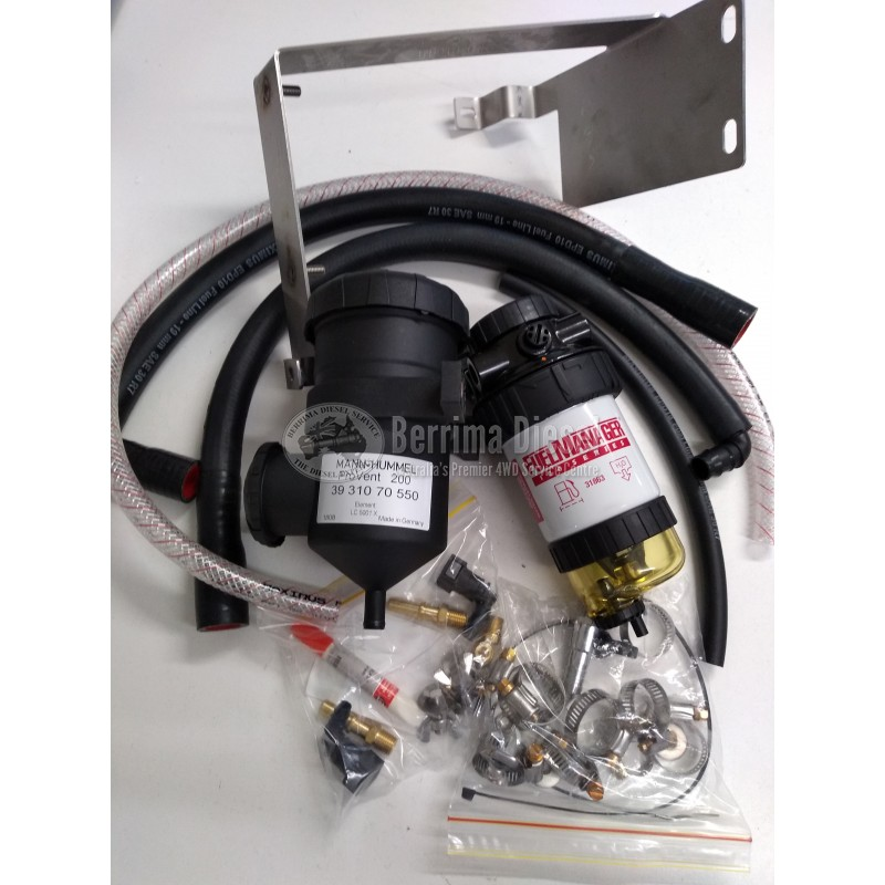 Mazda BT-50 2 2L / 3 2L DPF Diesel Fuel Filter and Provent Catch Can Kit