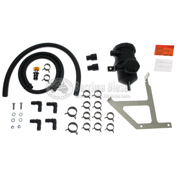( PROVENT Catch Can Kit ) Mitsubishi Challenger 4D56 2011 - 2013