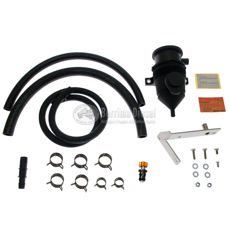 ( PROVENT Catch Can Kit ) Suitable for Toyota Hilux N70 3 0L (1KD-FTV) 2006  - 2015