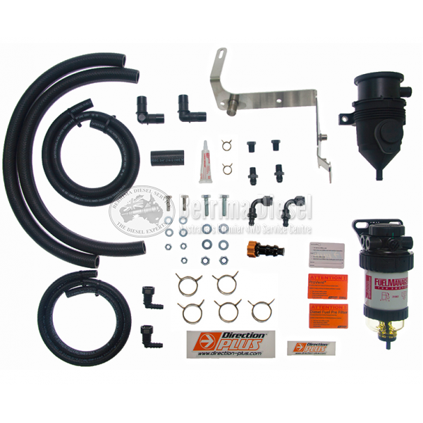 FORD RANGER 3.2L NON DPF DIESEL FUEL FILTER AND PROVENT CATCH CAN KIT (2011 - 2017 )