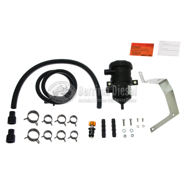( PROVENT Catch Can Kit ) Suitable for Toyota Fortuner 1GD-FTV 2015 - ON