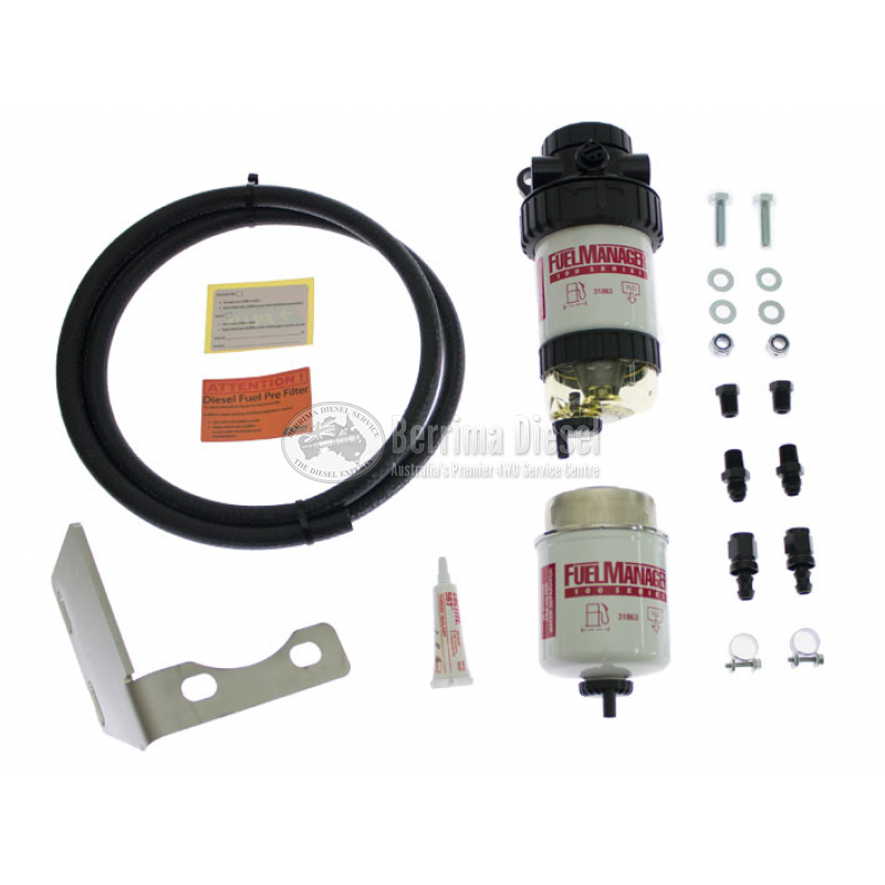 ( Stanadyne Filter Manager System ) Suitable for Toyota Prado 150 series  3 0LT, Single and Dual Battery