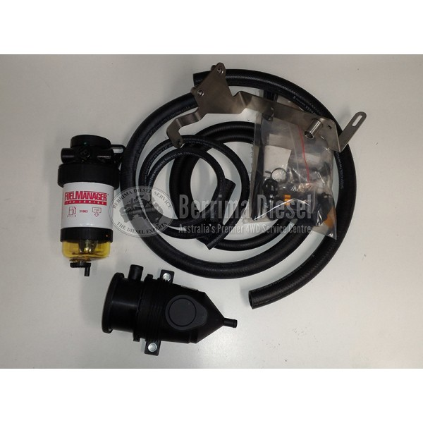 Mazda BT-50 3.2L Diesel Fuel Filter and Provent Catch Can Kit