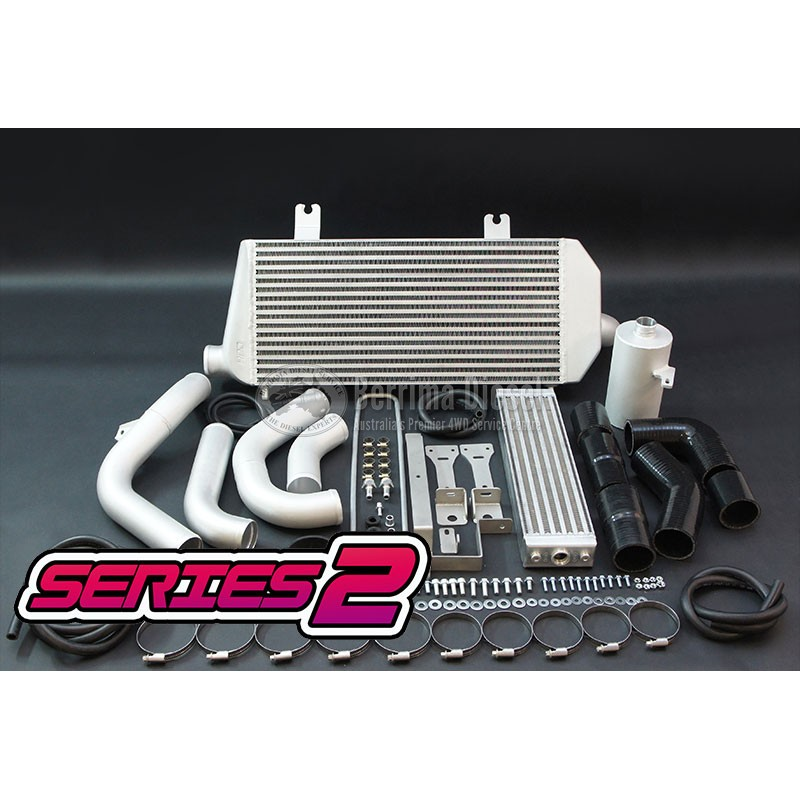 Suitable for Toyota LANDCRUISER 105 SERIES 1HZ FRONT MOUNT INTERCOOLER