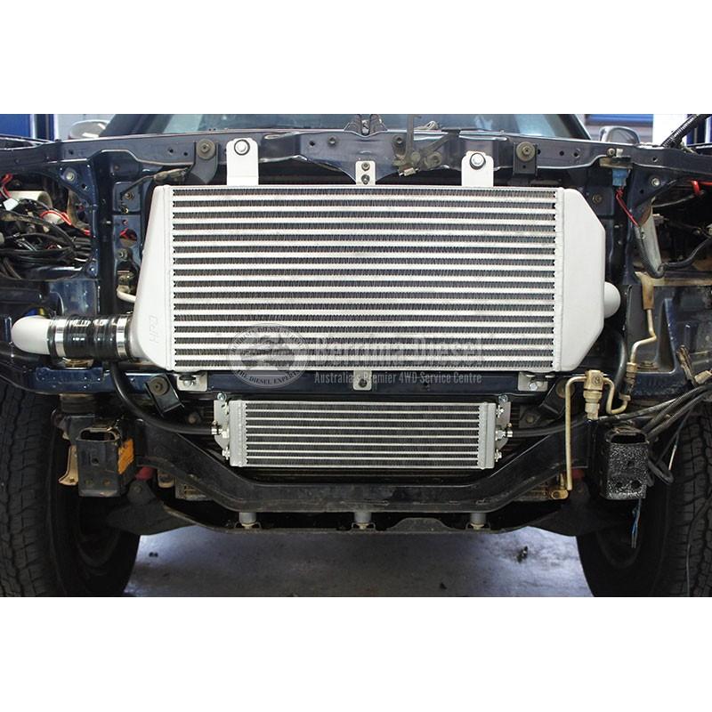 Suitable for Toyota LANDCRUISER 100 SERIES 1HDFTE FRONT MOUNT INTERCOOLER