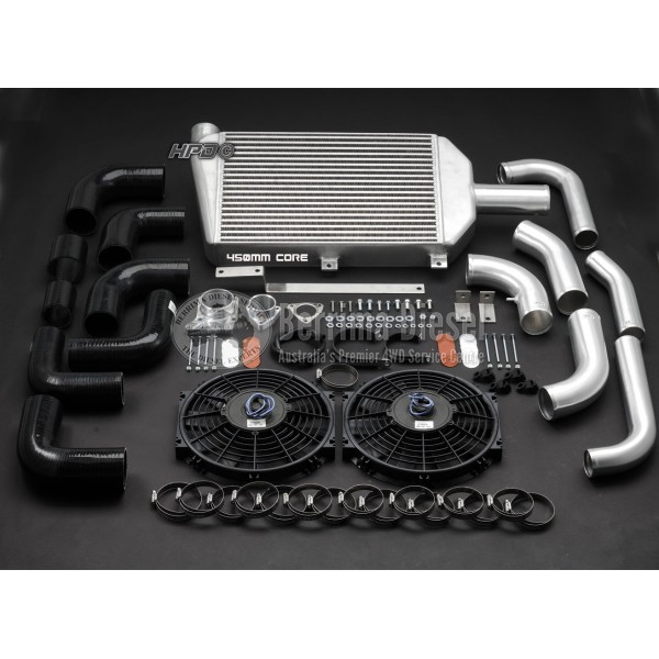 nissan patrol gu td42 450mm intercooler kit 39 99 39 03. Black Bedroom Furniture Sets. Home Design Ideas