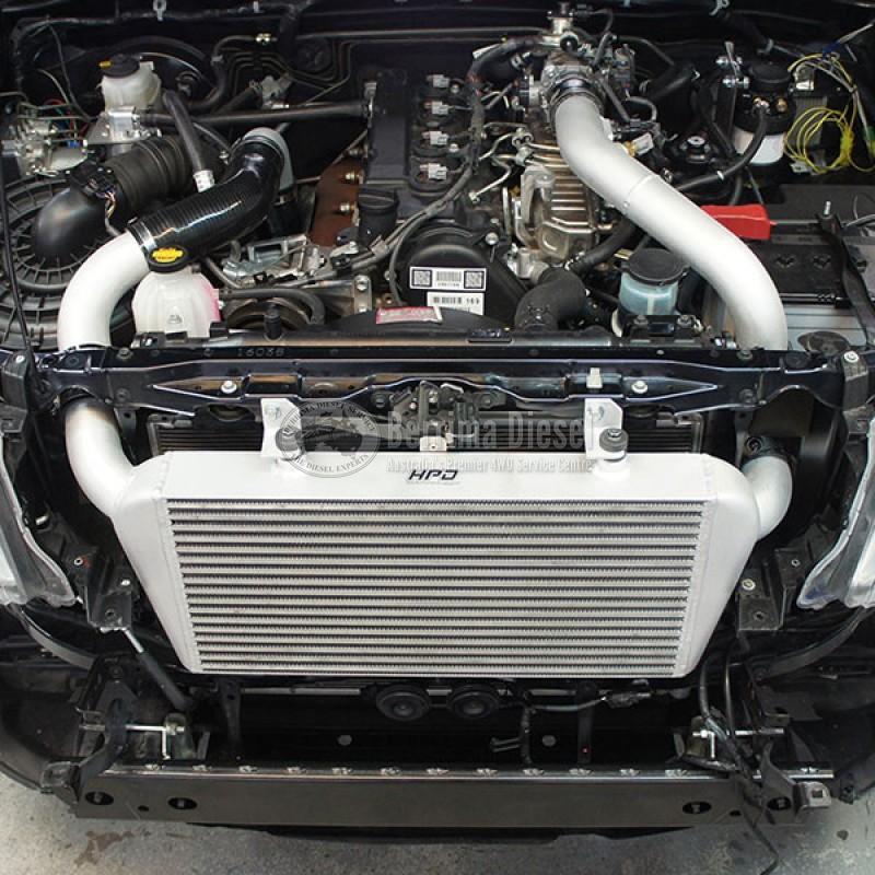 Suitable for Toyota HILUX D4D 3LTR 2006-2015 FRONT MOUNT INTERCOOLER