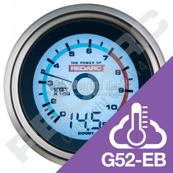 EGT & BOOST PRESSURE 52MM GAUGE