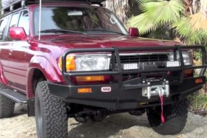 Poor fuel economy 80 series Landcruiser
