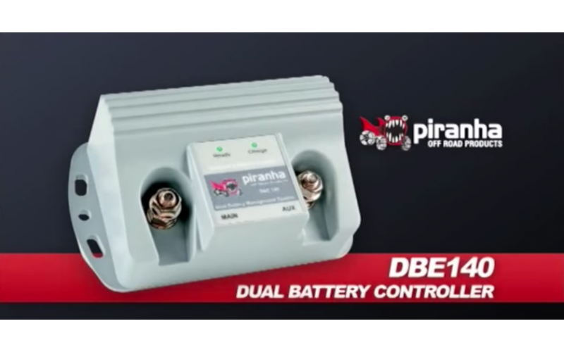 DUAL BATTERY MANAGEMENT SYSTEM - DBE140