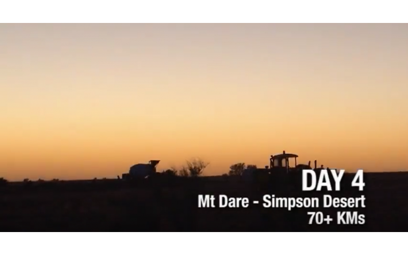 Day Four in Simpson Desert Part 1